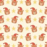 La carta della doccia di bambino con i piccoli orsi dirige il modello illustrazione di stock