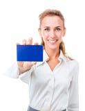 La carta di credito è la soluzione perfetta Fotografia Stock Libera da Diritti