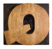 La carta ?Q? imágenes de archivo libres de regalías