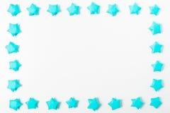 La carta stars il fondo della struttura Fotografia Stock