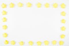 La carta stars il fondo della struttura Immagini Stock