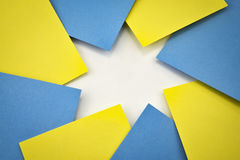 La carta stars la composizione Immagini Stock Libere da Diritti