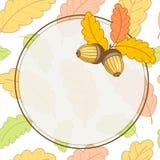La carte Autumn-01 a converti -01 Photos stock