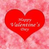 La carte de Valentine illustration de vecteur