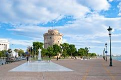 La carte de visite de Salonique Photos stock