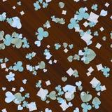 La carte forme la texture en bois produite sans couture Photo libre de droits