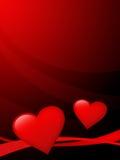 La carte Ilustration 2 de Valentine photographie stock libre de droits