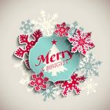 La cartolina d'auguri di Natale, manda un sms ad allegro ed a luminoso royalty illustrazione gratis