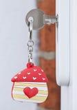 La casa è dove il cuore è Fotografie Stock