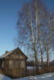 La casa Fotografie Stock Libere da Diritti