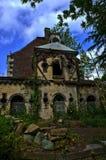 La casa abbandonata Fotografie Stock Libere da Diritti