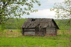 La casa abbandonata Fotografia Stock Libera da Diritti