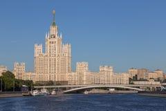 La casa alta a Mosca, Russia Fotografia Stock Libera da Diritti
