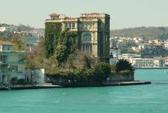 La casa antigua en el agua Imagen de archivo libre de regalías