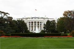 La Casa Bianca dal sud Immagine Stock