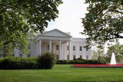 La Casa Bianca di del nord dell'entrata Fotografie Stock