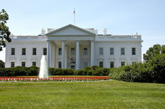 La Casa Bianca di di Washington Immagine Stock
