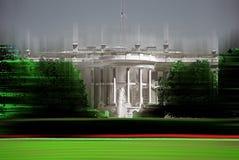 La Casa Bianca, Washington D: C: , sottragga graficamente digitalmente manipolato Fotografie Stock