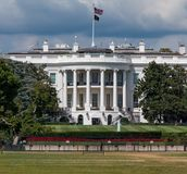 La Casa Bianca in Washington DC immagini stock libere da diritti
