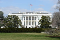 La Casa Bianca in Washington DC Fotografie Stock Libere da Diritti