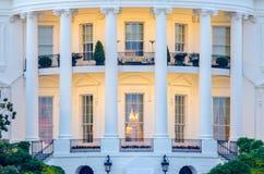 La Casa Bianca in Washington DC Immagini Stock