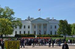 La Casa Bianca, Washington DC Fotografia Stock Libera da Diritti