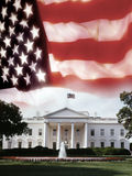 La Casa Bianca - Washington DC - gli S.U.A. Fotografia Stock Libera da Diritti