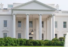 La Casa Bianca in Washington DC, S.U.A. Fotografie Stock