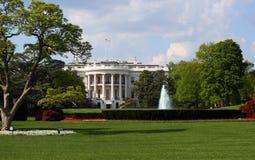 La casa blanca Fotos de archivo libres de regalías