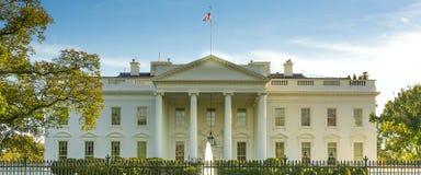 La casa blanca Imagen de archivo libre de regalías