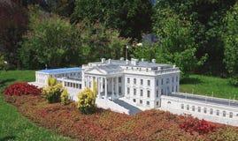 La Casa Blanca, los E.E.U.U. Klagenfurt Parque miniatura Foto de archivo