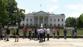 La casa blanca - Washington DC metrajes