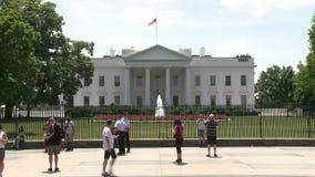 La casa blanca - Washington DC almacen de video