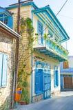 la casa colorida Imagen de archivo