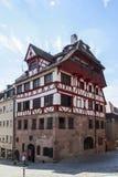 La casa de Albrecht Duerer en Nuremberg, Alemania, 2015 Fotografía de archivo