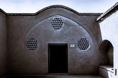 La casa de Borujerdi es una casa histórica en Kashan, Irán La casa fue construida en 1857 por el arquitecto Ustad Ali Maryam, par Fotos de archivo