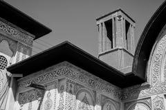 La casa de Borujerdi es una casa histórica en Kashan, Irán La casa fue construida en 1857 por el arquitecto Ustad Ali Maryam, par Imagen de archivo
