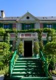 La casa de Claude Monet - Giverny, Francia Foto de archivo libre de regalías