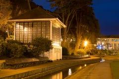 La casa de cristal fotografía de archivo