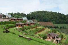 La casa de la colina Imagenes de archivo