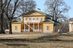 La casa de la familia noble del extremo XVIII - el b Fotografía de archivo