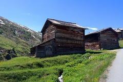 la casa de la montaña Fotografía de archivo