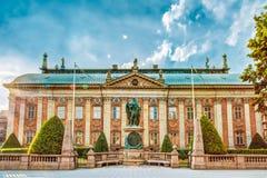 La casa de la nobleza - Riddarhuset en Estocolmo Imagen de archivo libre de regalías