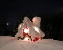 La casa de la noche imagen de archivo libre de regalías