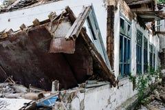 La casa de la ruina Fotografía de archivo libre de regalías