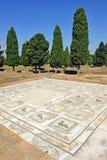 La casa de los pájaros, ciudad romana de Italica, Andalucía, España Fotografía de archivo libre de regalías