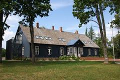 La casa de madera Fotos de archivo