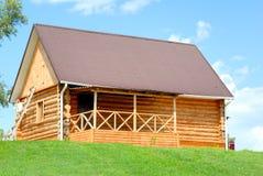 La casa de madera Imágenes de archivo libres de regalías