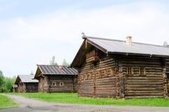 La casa de madera vieja Imagenes de archivo