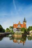 La casa de Miller, Gdansk, Polonia Imágenes de archivo libres de regalías